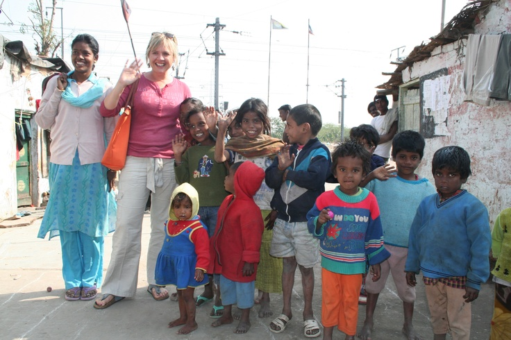 In Delhi's biggest slum with a lovely local girl happy to take us around her home