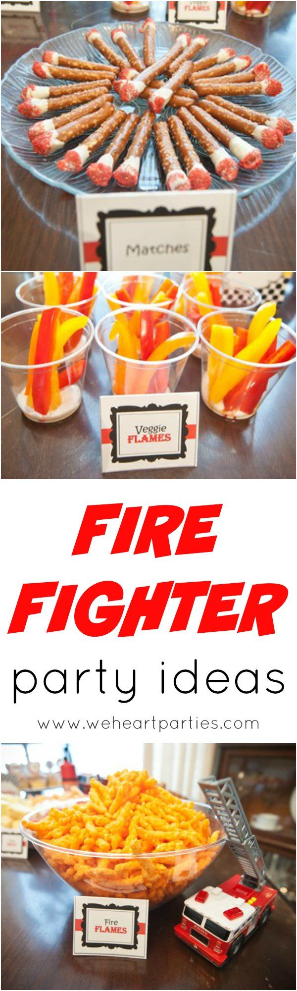 Easy Fire Truck Party Ideas