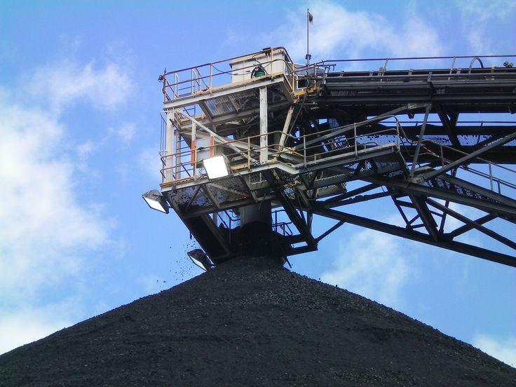 Coal stacker