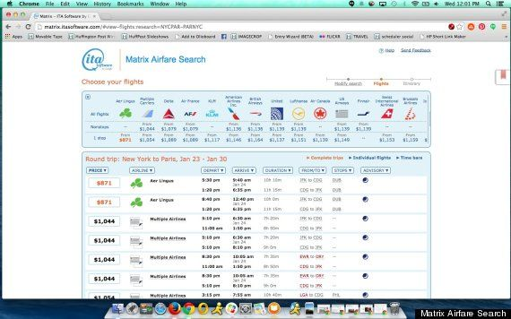 ITA Matrix--FInd the flight you want then book directly through the carrier or use a travel agent