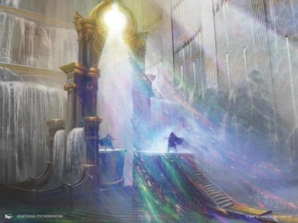 Elysium Gate Celestial Art Mtg Art Magic Art