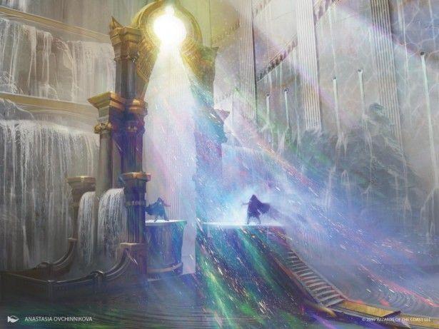 Elysium Gate Celestial Art Mtg Art Magic Art