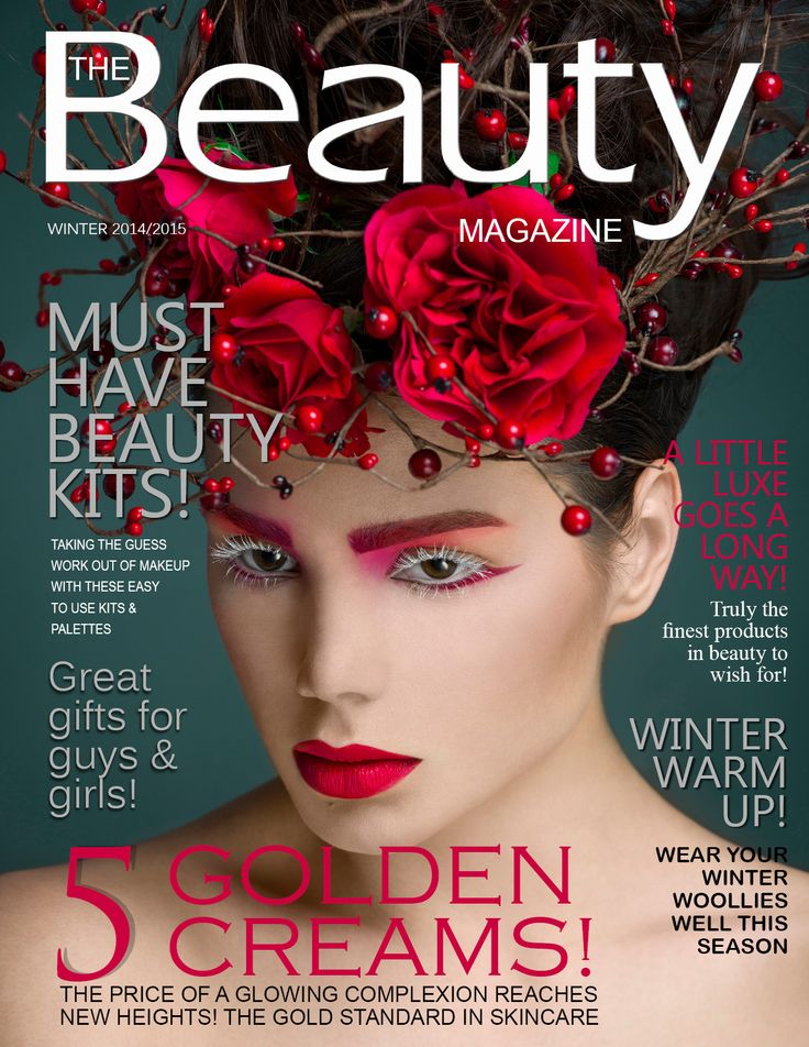 16 Best The Beauty Magazine Covers & More Images On