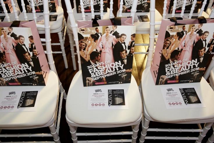 Giftbag goodies from Revlon @ 30 days of Fashion & Beauty