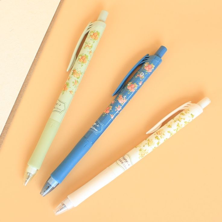 0.68$  Watch now - http://alivo1.shopchina.info/go.php?t=32787436385 - 1pics Ballpoint Pen Floral Kawaii Small Fresh Canetas Office School Stationery Supplies Free Shipping 0.68$ #magazine