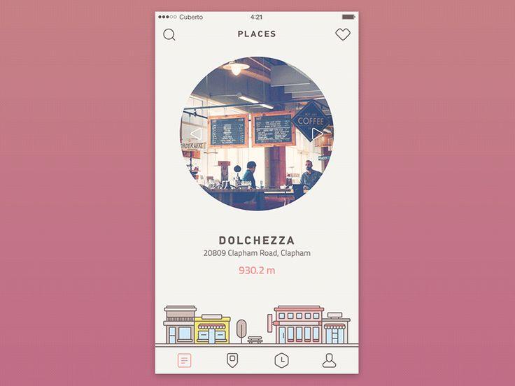 simple app design - coffee app