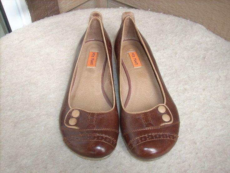 Miz Mooz Peaches shoes 8 Brown Leather New #MizMooz #LoafersMoccasins #WeartoWork