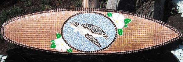 Honu (Sea Turtle) my first piece at Wyland gallery www.tropical-artist.com