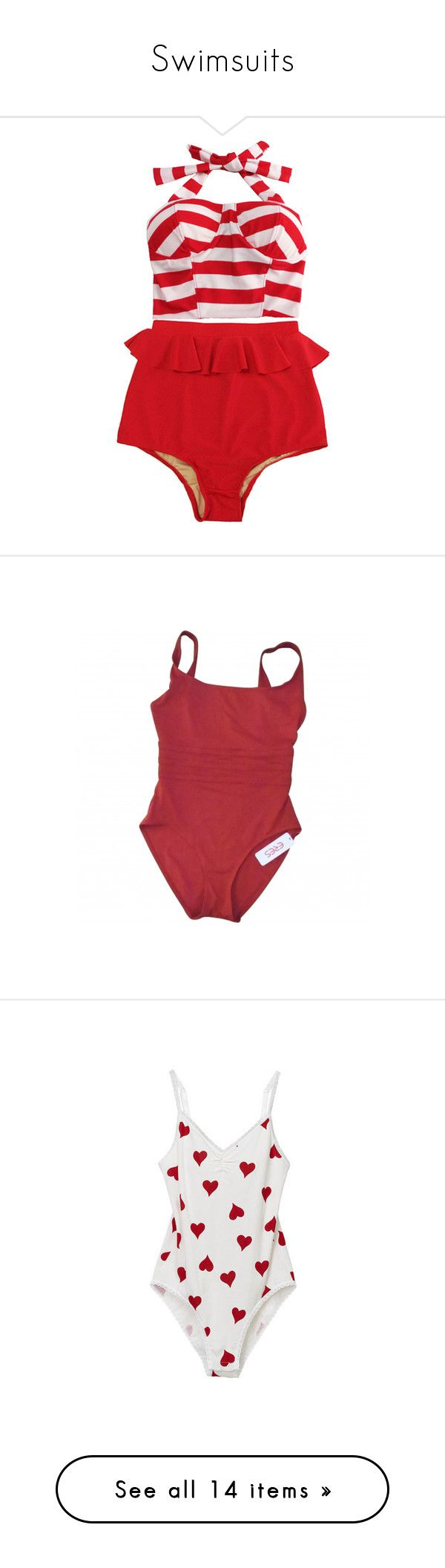 """""""Swimsuits"""" by this-perfect-dream on Polyvore featuring swimwear, bikinis, swimsuits, tops, white high waisted swimsuit, swimsuits two piece, high waisted bikini swimsuit, vintage high waisted bikini, white high waisted bikini y one-piece swimsuits"""