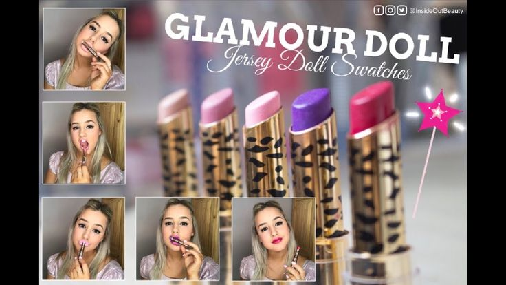 Would you buy these lipsticks?? | Glamour Doll  Jersey Doll Collection