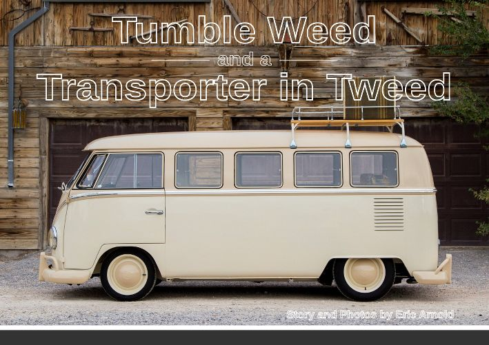 This 13-window Deluxe Split Screen van is very special for a number of reasons. Firstly it is the first full restoration completed by owner Adrienne Hanchett and her husband Emmitt, secondly its unique colour scheme was decided on the toss of a coin and thirdly it has two engines! www.kombilifemagazine.com