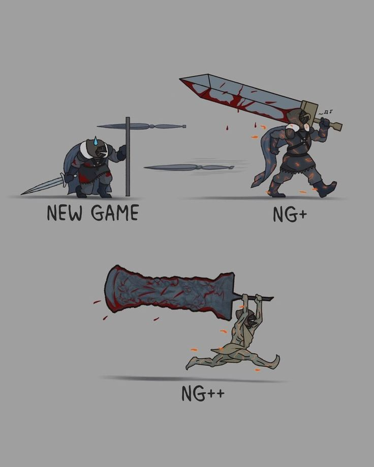 Progression in dark souls be like and