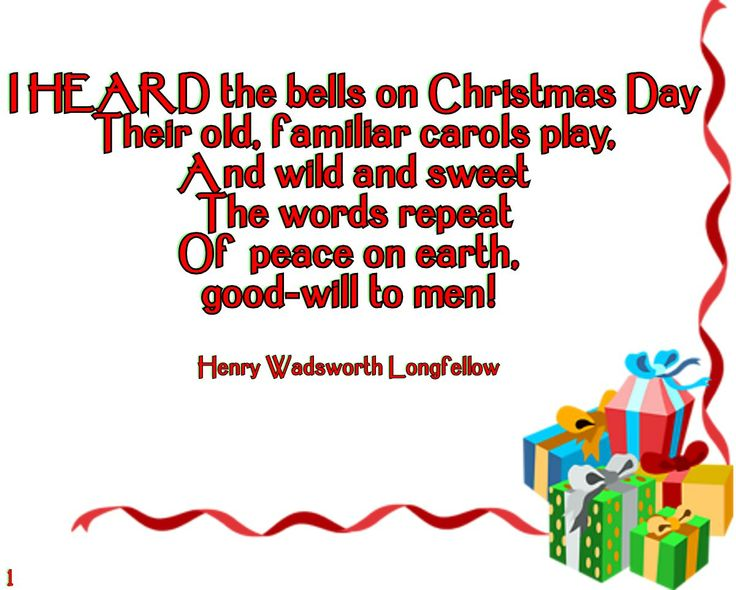 christmas bells by henry wadsworth longfellow