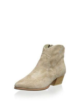 50% OFF PLOMO Women's Penelope Cowboy Bootie (Beige)