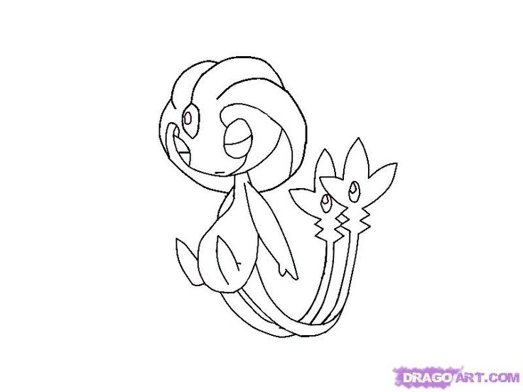 all legendary pokemon coloring pages - photo#25