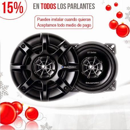 124 modelos de parlantes con 25% Off (Regala e instala cuando quieras) http://bit.ly/1wiOz5T     #navidad2014  en #chile
