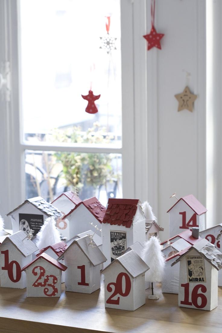advent calender, calendrier de l'avent 2011, une création originale.  http://machinchoz.canalblog.com/