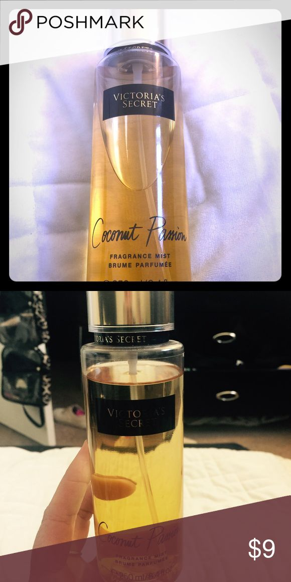 Victoria Secret Spray Coconut Passion spray from Victoria Secret I love the smell but my bf doesn't 😂 used only a few times 💕 Victoria's Secret Other