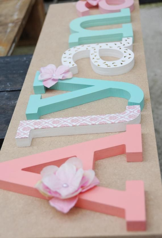 Wooden Letter Name Large 6 Inch Wooden Letters Wooden Name Sign For Nursery Wall Wooden Children Name Personalized Letters For Baby Room Wooden Letters Large Wooden Letters Decorative Letters