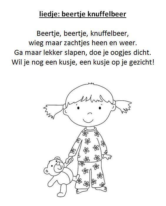 liedje versje beertje knuffelbeer thema knuffelbeer