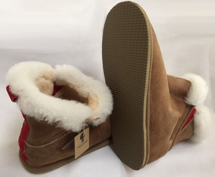 Shepherd 'Bella' slippers are sought after by the sporty and youthful woman who loves a higher slipper with side elastic. Hard sole, so easy to nip outside in. Bella Sheepskin Slippers go through an extremely lengthy, hand-made production process by leather & sheepskin artisans, in Shepherd's own family-run factory in Sweden. Features an EVA-non slip sole making them perfect for nipping outside, or for hard floors. About Shepherd of Sweden Slippers: Tre...
