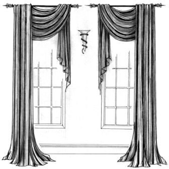 Idea for bedroom widows.