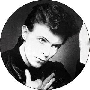 David Bowie Heroes Pin