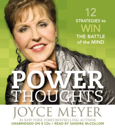 Follow up book to Battle Field of the mind....very helpful and packed with truth