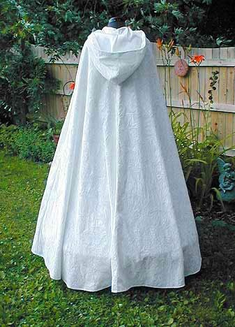 Beautiful Renaissance Wedding Cape