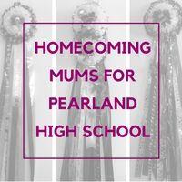 PEARLAND HIGH SCHOOL HOMECOMING MUMS - Enchanted Florist Blog #homecomingmums