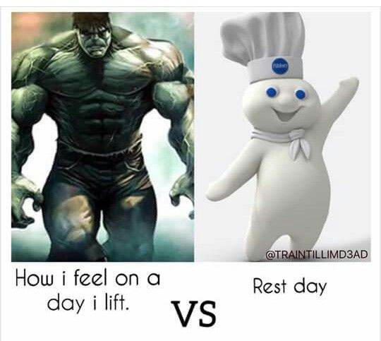 Rest day humor