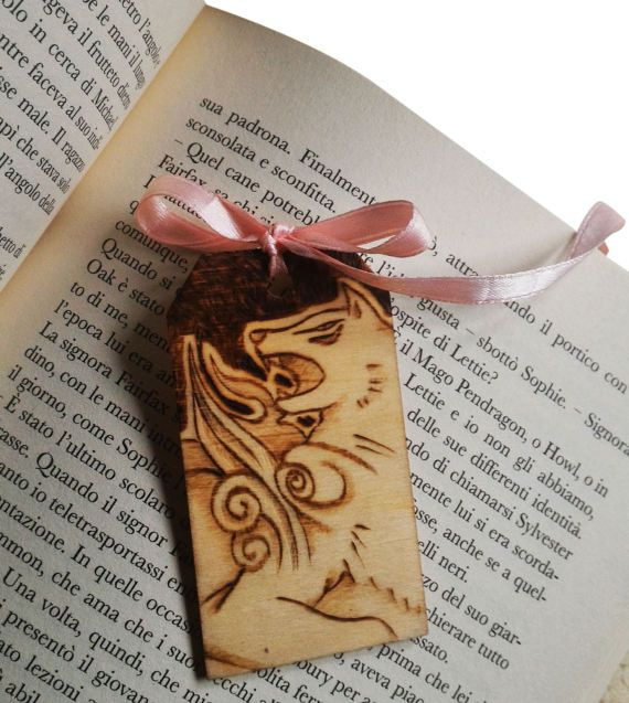 wooden bookmark Okami by ChibiPyroFable on Etsy