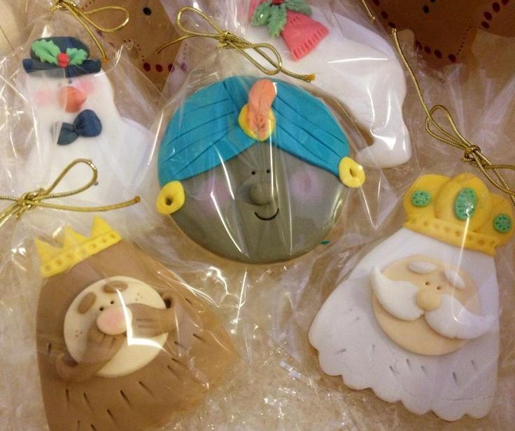 Reyes Magos de galleta