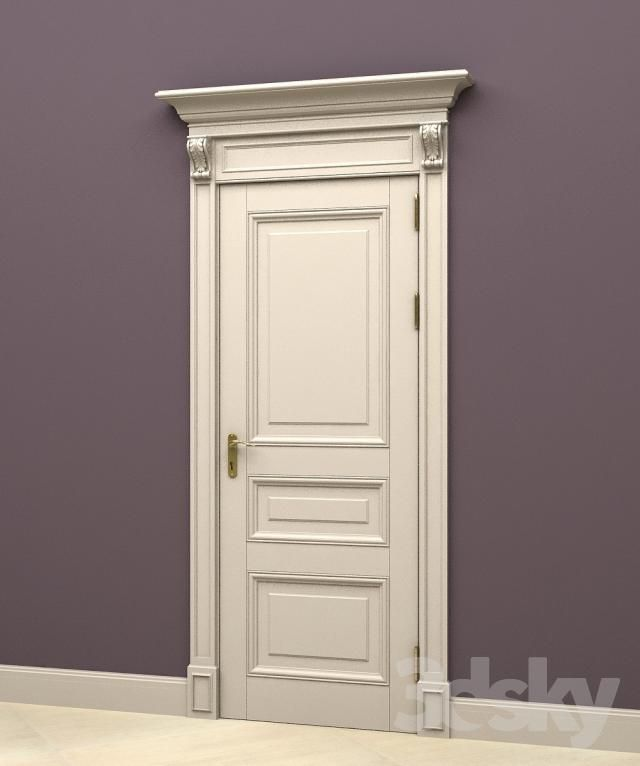 The door in the English style 4