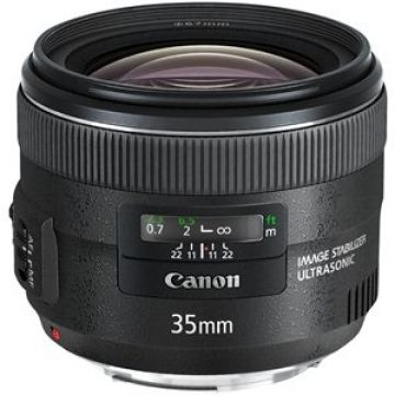 Canon EF 35mm f/2 IS USM Objectif