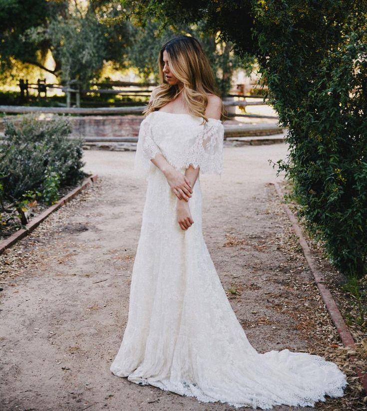 Off Shoulder Mexican Style Wedding Dresswedding Dressesdressesss