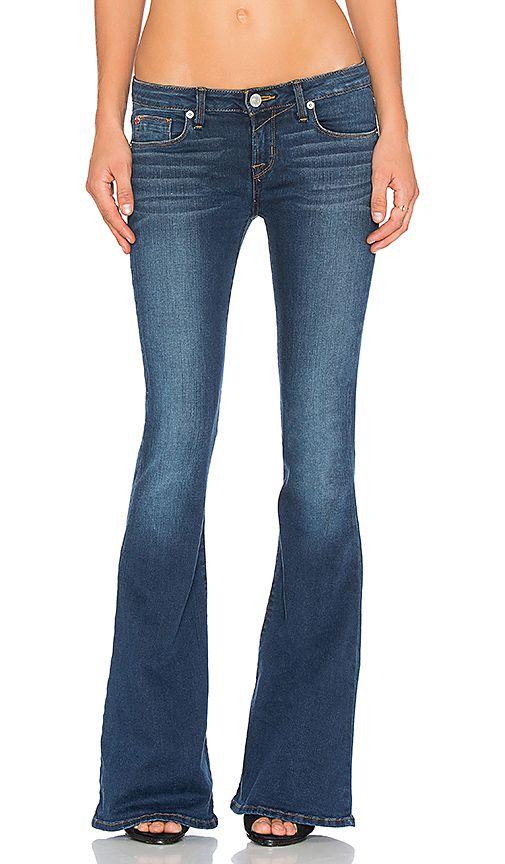 Hudson Jeans Mia Flare in Dauntless | REVOLVE