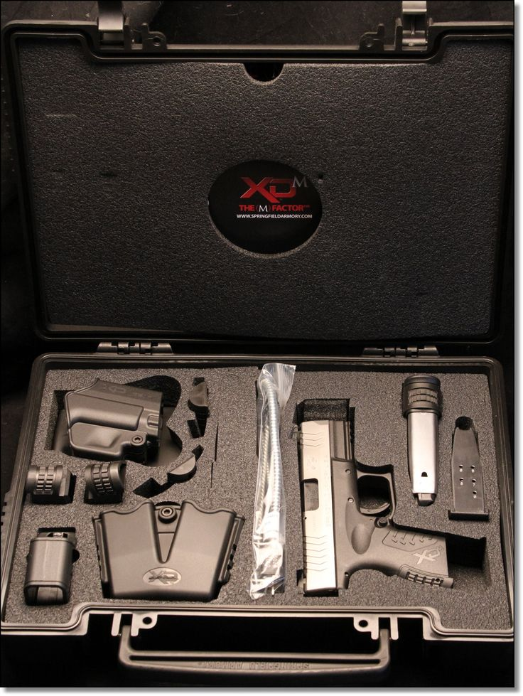 Springfield XDS vs. XDM Compact .45 – Range Report
