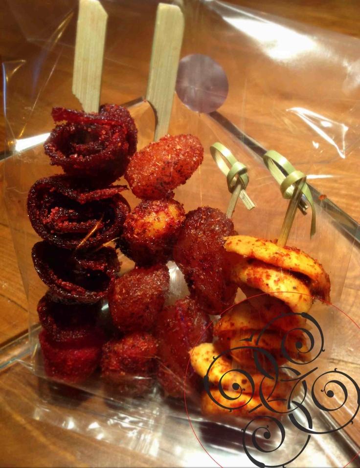Brochetas de gomitas y tamarindo #munchies