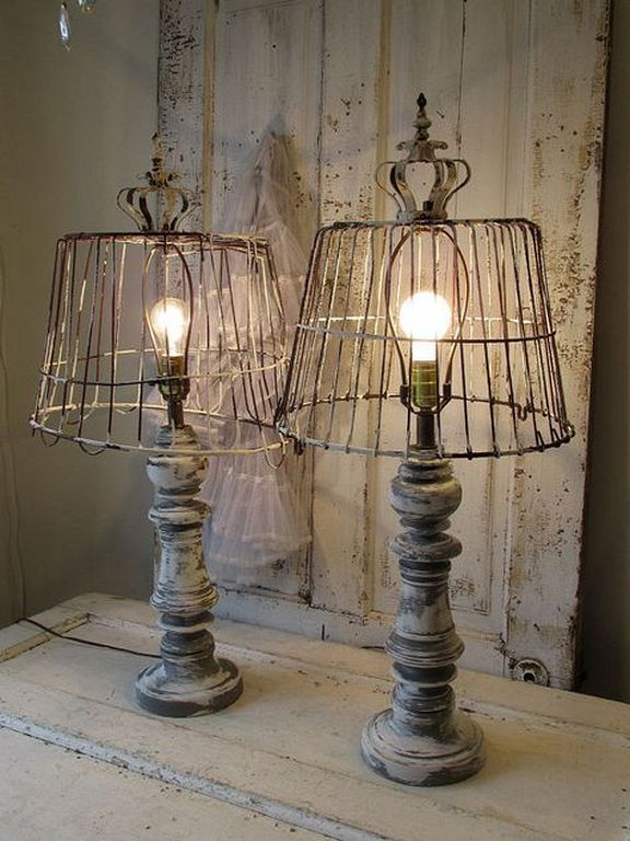 Vintage Wooden Lamps 12 Woodenlamp Lampe In 2019 Rustic Table