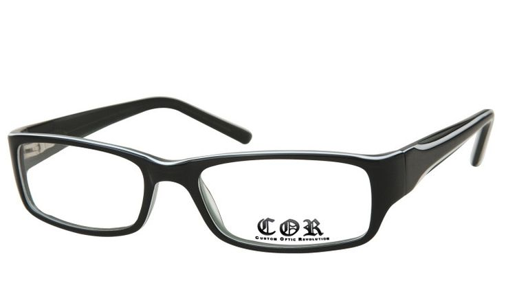 Coole Retro Brille von COR
