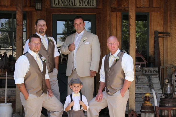 Country Groomsmen