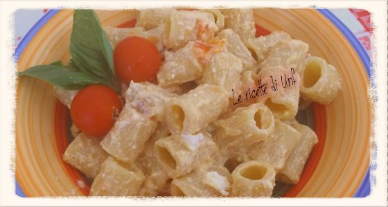 Idee+per+fare+la+pasta+fredda:+la+ricetta+con+pomodorini,+ricotta+e+pancetta