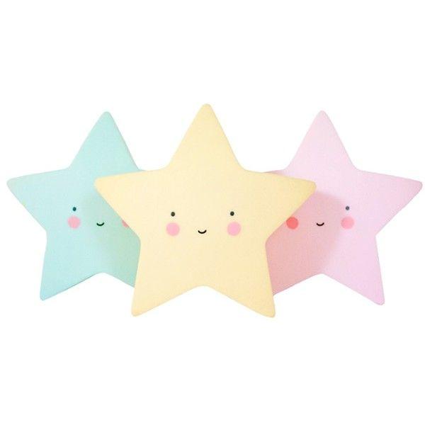Mint nachtlampje ster - A Little Lovely Company