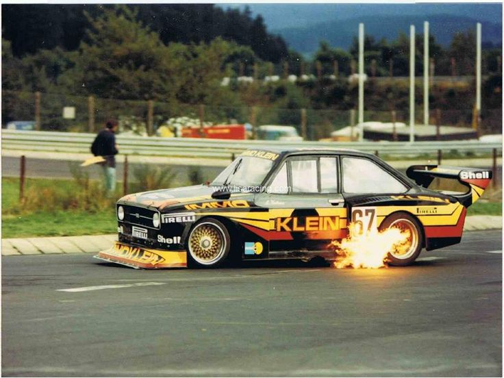 Ford Escort mark II race car