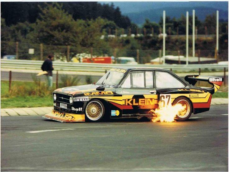 Ford Escort mark II race car
