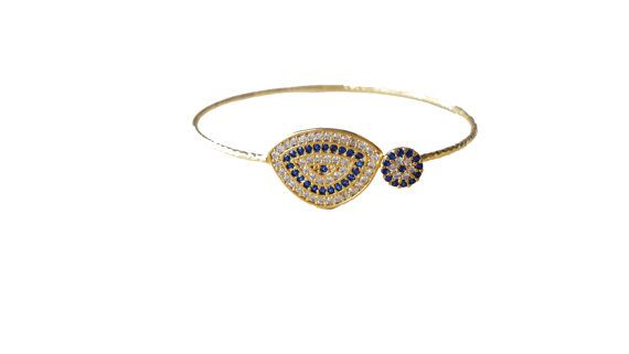 Valentine's days giftgold plated bangle by appax on Etsy