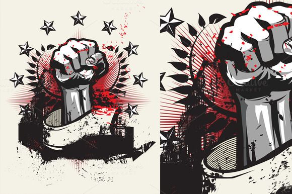 Revolution by SNTK on Creative Market