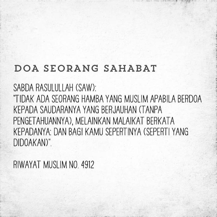 Ayuh selitkan doa buat sahabat kita sentiasa! ( :
