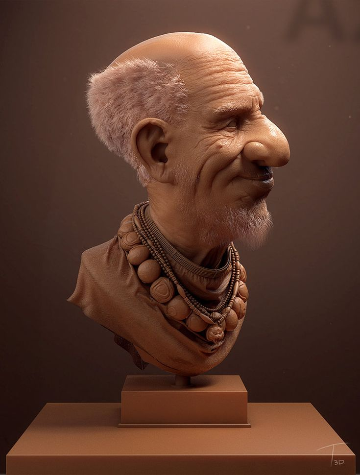 Old man, Kevin Beckers on ArtStation at https://www.artstation.com/artwork/old-man-94dd74c9-61a7-4e0e-8de4-c89f50c97415